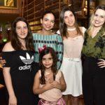 Gabriela Machado, Marina Escafure, Natalia Maciel, Elise Nunes E Liana Maia