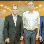 Henrry Campos, Beto Studart, Camilo Santana E Tarcisio Pequeno (3)