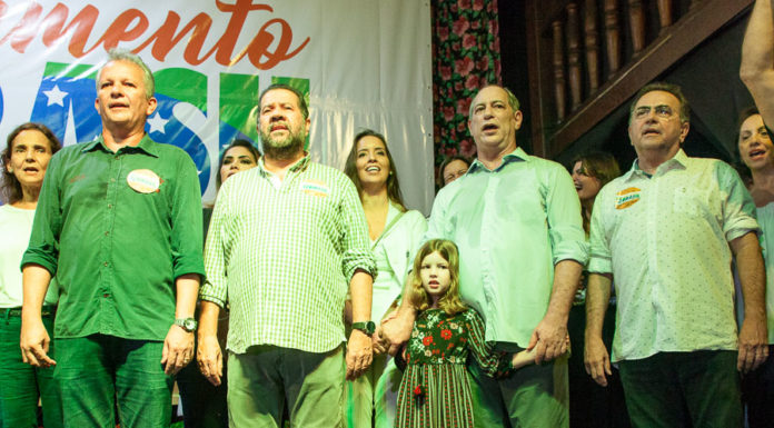 Isolda Cela, André Figueiredo, Marcos Lupi, Giselle Bezerra, Maria Clara, Ciro Gomes E Leônidas Cristino 2