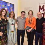 Ivana Bezerra, Mariola Landowska, Junior Gomes, Inês Fiuza, Vando Figueiredo E Lilian Quinderé