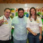 Leônidas Cristino, Lia Gomes E Amigo_