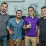 Lucas Andrade, Joao Filho,Eduardo Moteiro E Frank Rodrigues (1)