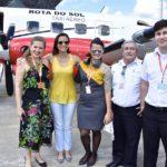 Nana Fankilin, Tatiana Barros, Camila Marques, Comandante Teles E Sergio Mayer