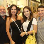 Paulo Carapeba, Maria Lucia Negrão, Nicole Vasconcelos E Pedro Paulo Negrão