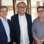 Rômulo Soares, Arialdo Pinho E Manoel Linhares (2)