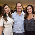 Renata Calvalcante, Rodrigo Parente E Luciana Cidrão