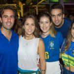 Vitor E Daniela Frota, Talita Pontes, Igor Martins E Vanessa Melo (1)