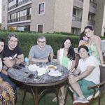 Amelia Maia, Mario Maia, Andre Almeida, Daniela Castela Branco, Marcio Castelo Branco E Deise Castro