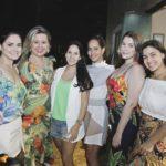 Camila Ximenes, Daniela Castelo Branco, Patricia Soares, Luana Simoes E Amelia Maia
