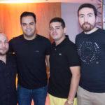 Carlos Aristides, Ivo Dias, Marcio Dote E Paulo Brito Júnior