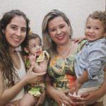 Caroline Ximenes, Sofia Ximenes, Camila Ximenes E Pedro Ximenes