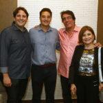 Daniel Simoes, Daniel Arruda, Roberto Costa Lima E Celene Gurgel (1)