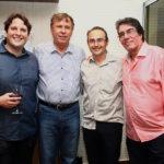Daniel E Jose Simoes, Marcio Pontes E Roberto Costa Lima