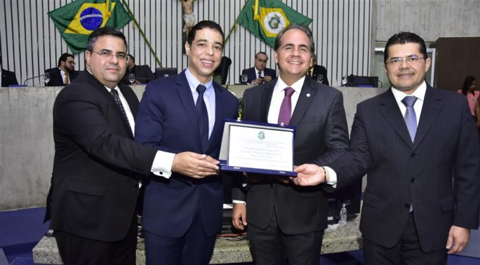 Fábio Timbó, Leonardo Araujo, Ricardo Bacelar E Valdetário Monteiro
