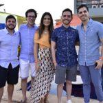 Guilherme Camarão, Arthur Castelo, Milena Patrício, Djacir Figueiredo E Ronaldo Ventura