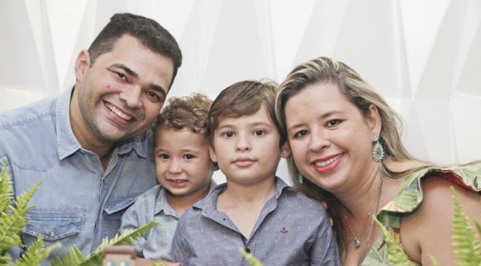 Jacob Mendes, Pedro Ximenes, Joao Victor Ximenes E Camila Ximenes