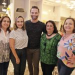 Marcia Albuquerque, Andrea Cunha, Felipe Andrade, Magdalena Bonfim E Lidia Militao