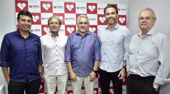 Marcos Novais, Otacílio Valente, Emanoel Capistrano, Carlo Fiuza E Hélio Galiza