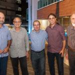 Namir Melo, Eduardo Dias, Walter Farias, Jean Fechine E Elmo Coelho