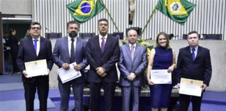 Paulo De Melo Jorge Neto, Jocélio Leal, Lauro Chaves, Sergio Aguiar, Marilia Ferreira Lima E Ricardo Coimbra