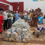 Silcar Entrega Alimentos Ao Lar Amigos De Jesus 53
