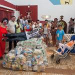 Silcar Entrega Alimentos Ao Lar Amigos De Jesus 54