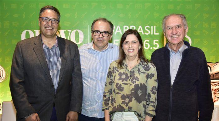 Alexandre Ovoruski, João Dummar Neto, Cláudia Rei E Caliu Bacite