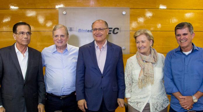 Beto Studart, Tasso Jereissati, Geraldo Alckmin, Ana Amélia Lemos E General Teophilo (3)