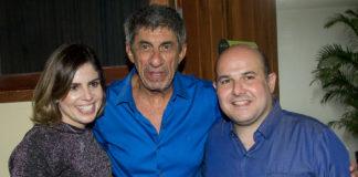 Carol Bezerra, Raimundo Fagner E Roberto Claudio