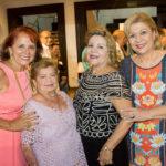 Fátima Duarte, Terezita Aguiar, Marta Peixe E Priscila Cavalcanti