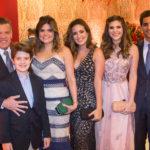 Ferrucio, Ferrucio Filho, Cristine, Amanda E Marcela Feitosa, Victor Ary (2)