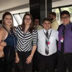 Gisele Castro, Damile Gondim, Ramon Guimarães E Geovane Maia