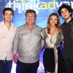 Guilherme, Evandro, Eliziane E Evandro Filho Colares