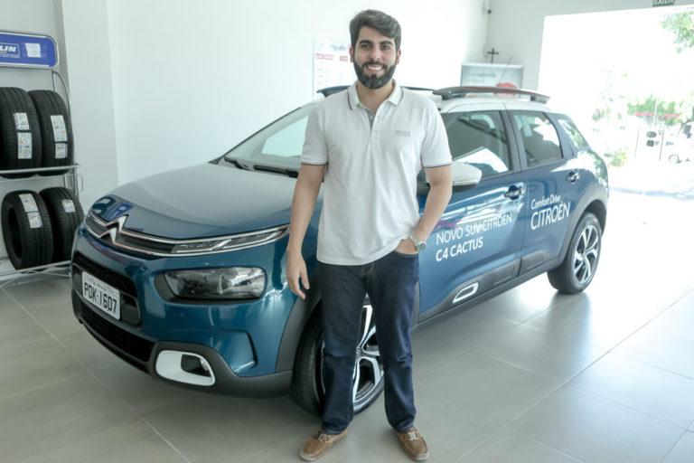 João França Júnior apresenta novo SUV Citroën C4 Cactus