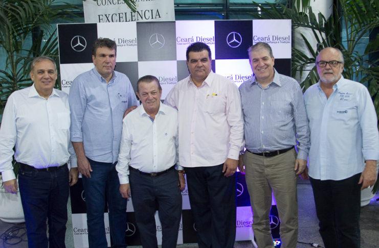 Luis Roberto, Zezinho Vendramini, Odmar Feitosa, Paulo Corso, Sergio Saboia E Valdir Oliveira