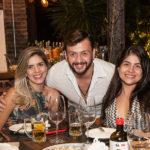 Rafaela Lima, Erasmo Filho E Caroline Feitosa