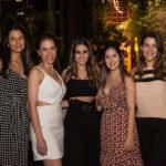 Tatiana Mendes, Natércia Sabóia, Vanessa Melo, Juliana Teixeira E Camila Halteres