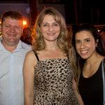 Thiago Reckziegel, Monia Heuser E Julia Santana