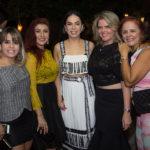 Camila Duarte, Patrícia Porto, Roberta Fontelles, Waleska Rolim E Fátima Duarte