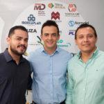 Carlos Araújo, Agnaldo Silva E Júlio Ribeiro