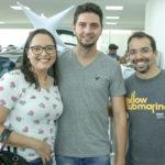 Catarine Fernandes, Eduardo Ferreira E Cli Cerio (2)