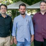Davi Leite, Tiago Barroso E Anibal Barroso