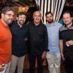 Edson Queiroz Neto, Élcio Batista, Silvio Frota, Felipe Rocha E Otávio Queiroz
