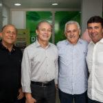 Erivaldo ALves, Otacílio Valente, Emanuel Capistrano E Marcos Novaes