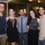 Felipe Costa, Scarlet Soares, Gustavo Augusto, Luara Ciarlini E Pedro Paulo Rolim (1)