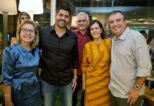 Goreth Arruda, Felipe Capistrano, Emanuel Capistrano, Neuma Figueiredo E Ricardo Bezerra 01