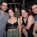 Luis Bezerra, Aline Pedrola, Roberto Marçal E Abrãao Carlos