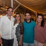 Luiz Uchoa, Isabele Pina, Abelardo E Viviane Rocha