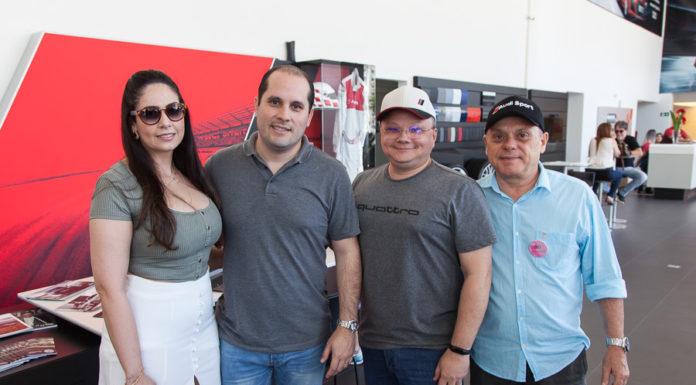 Patrícia Vieira, Eymard Júnior, Jarley Oliveira E Aquiles Gomes