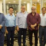 Pedro Alfredo, Francílio Dourado, Eulálio Costa, Fred Fernandes, Elias Do Carmo E Benildo Aguiar (2)